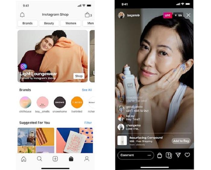 Facebok veut rendre le shopping en ligne accessible à tous les commerçants grâce à sa nouvelle fonction Facebook Shops