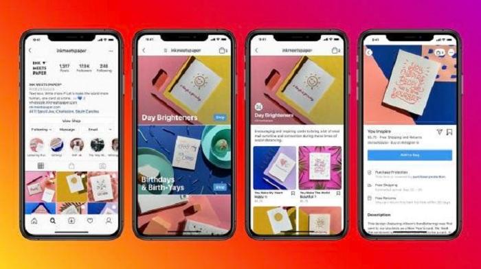 Après Instagram, Facebook se lance aussi dans le shopping en ligne avec son nouvel outil Shops