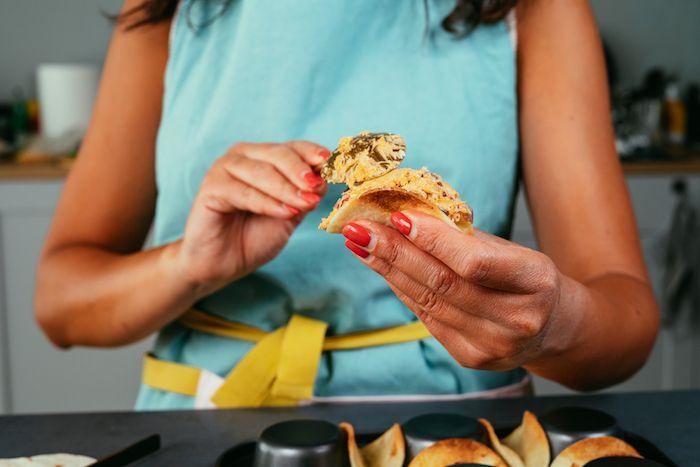 quelle frce pour tacos, recette wrap apero facile, tacos recette amsue bouche en famille