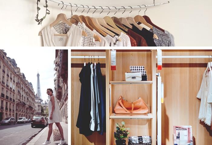 comment bien organiser son dressing pour l'été, conseils et astuces de rangement vêtements et chaussures