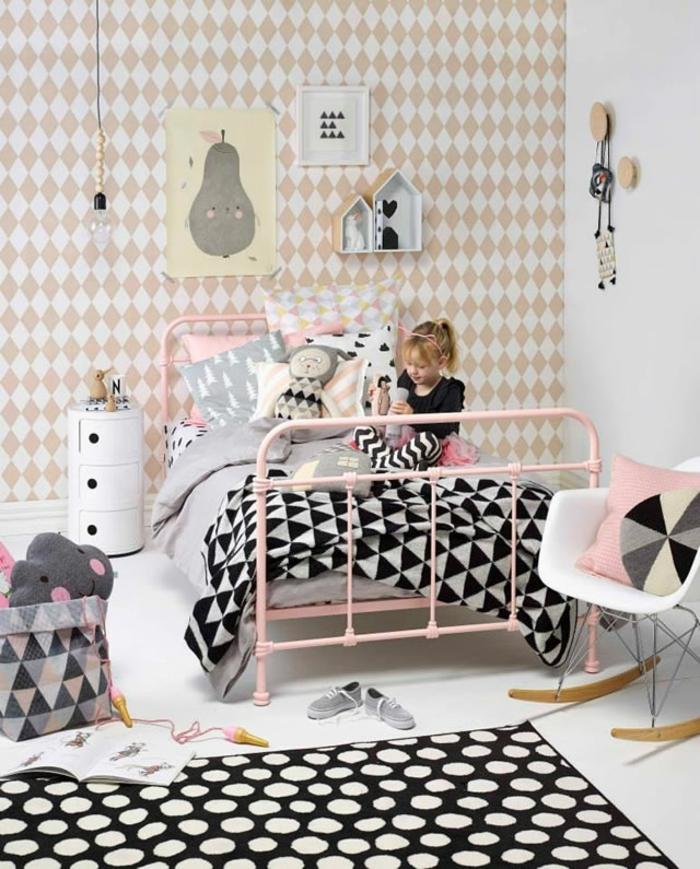 image deco de chambre fille, comment décorer une chambre de fille