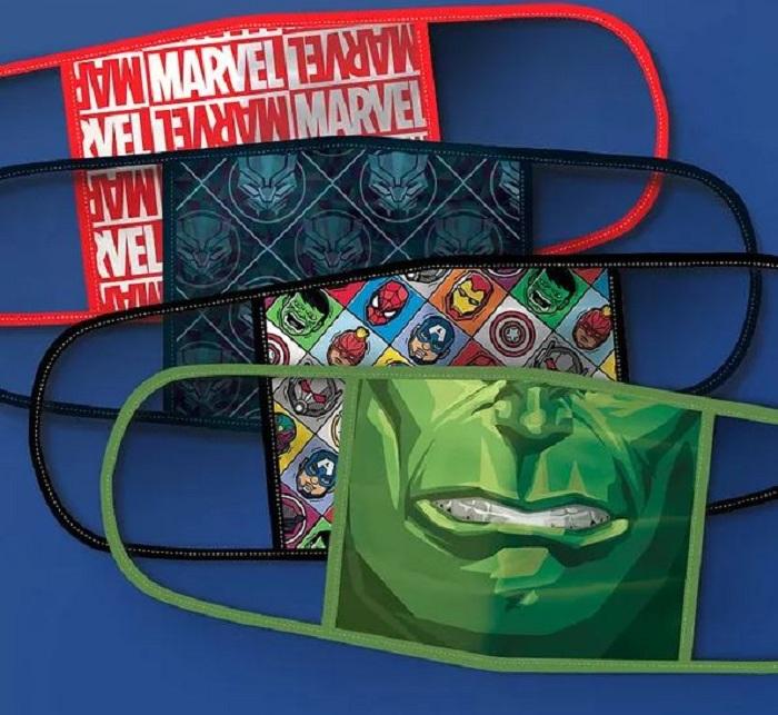Des masques grand public aux couleurs de Disney sont désormais disponibles aux USA