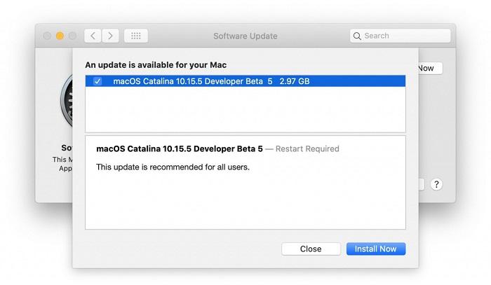 Découvrez les nouveautés apportées par la mise à jour de macOS Catalina 10.15.5 pour Macbook