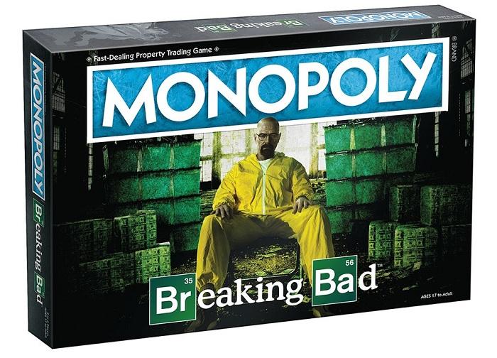 Monopoly lance une édion spéciale Breaking Bad de son jeu