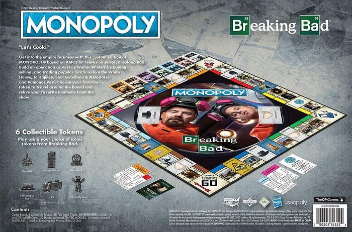 Monopoly rend hommage à la série Breaking Bad en lançant une édition spéciale dédiée à la série culte