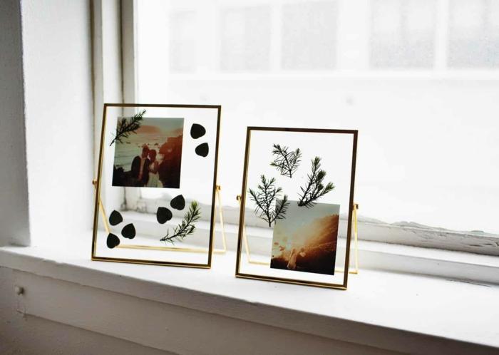 Belle déco simple comment décorer sa chambre, idée déco diy accroche photo bricolage