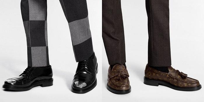 Chaussures derby et moccassins pour la nouvelle collection Louis Vuitton Nigo LV2
