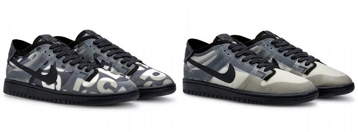 COMME des GARÇONS Nike SB Dunk Low, la sneaker collaborative de luxe sera commercialisée le 14 mai chez Dover Street Market