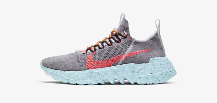 Nike lance sa collection de sneakers issues de matières recyclées Space Hippie le 11 juin sur SNKRS