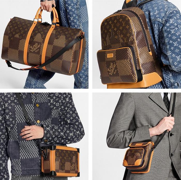 Découvrez les pièces de maroquinerie de la collection Louis Vuitton LV2 conçue par Nigo