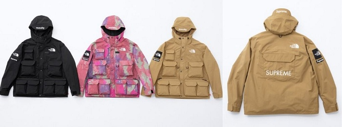 veste supreme the north face, le duo revient pour une deuxième collection printemps 2020 Drop 2