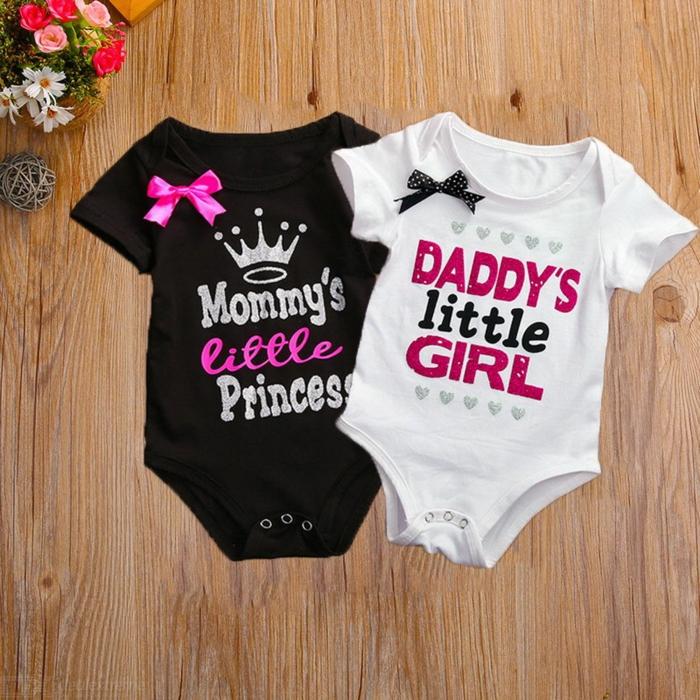 Chemisettes bébé la fille du papa idée cadeau papa, idée cadeau fête des pères à fabriquer facilement