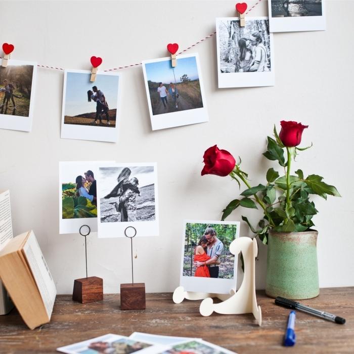 comment faire une deco photo personnelle, activité manuelle facile et rapide, idée que faire avec ses photos de voyage