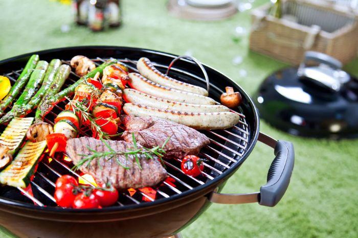 idée quelle viande pour barbecue et quel accompagnement barbecue, brochettes légumes grillés