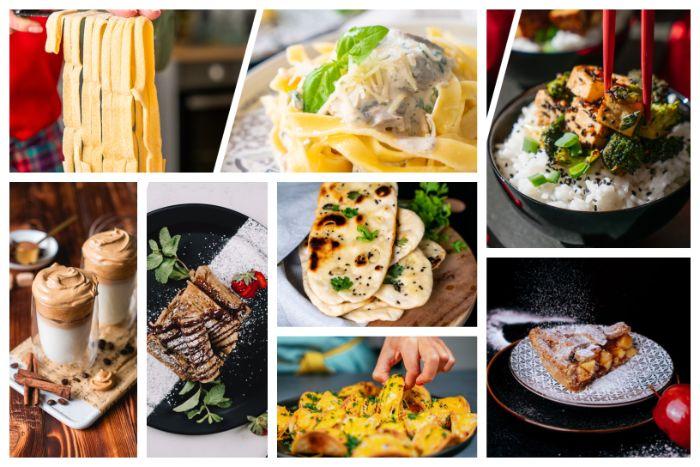 que faire a manger en confinement, plusieurs recettes de repas plat international recettes faciles et rapides