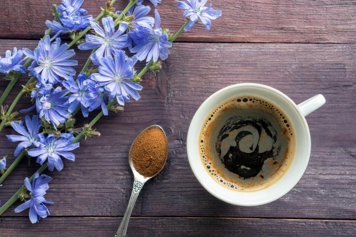 comment préparer un café chicorée, idée de café glacé maison recette originale, faire une boisson à la base de chicorée