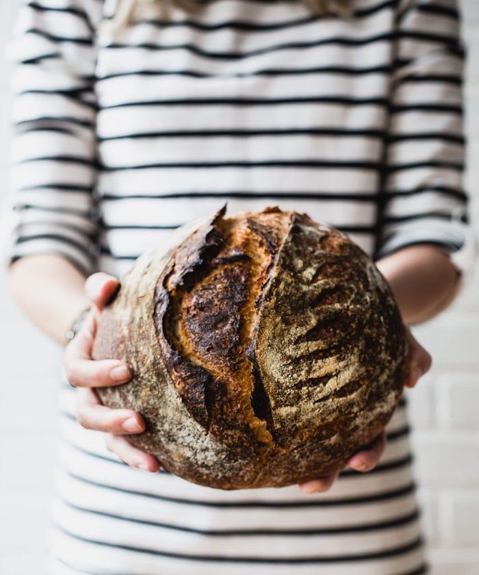 pain de campagne complet avec blé red fife, faire son pain au levain chez soi