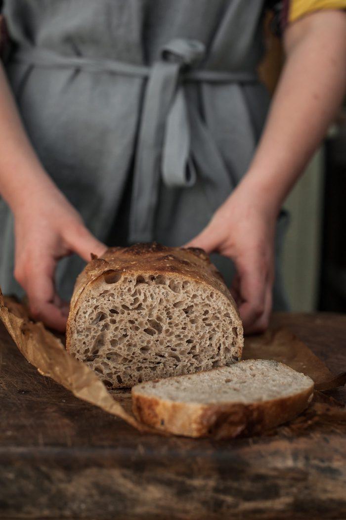 pain complet a faire soi meme, idée recette de pain avec de la farine complete a faire chez sou