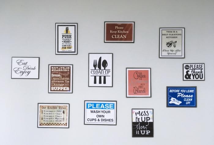 différents modèles d'affiches et poster avec phrases et citations rigolo pour sublimer les murs chez soi