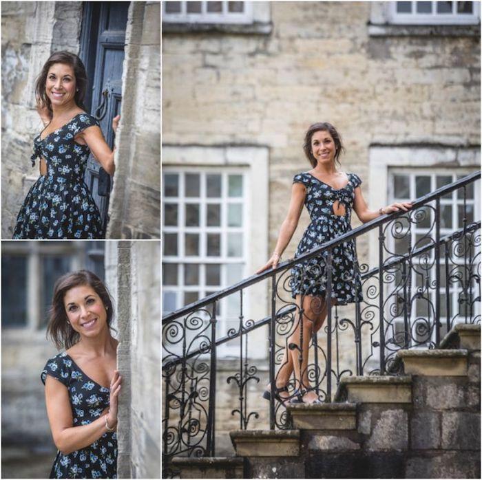escalier robe d été femme tenue d été pour femme belle femme photo robe courte robe d été chic au style boheme femme moderne robe hippie chic