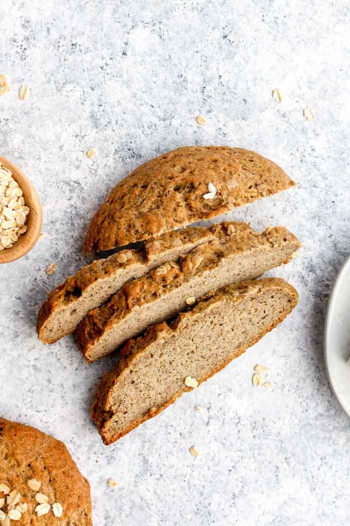 recette pour faire son pain complet chez soi avec farine d avoine, farine de riz brun et autres farines sans gluten