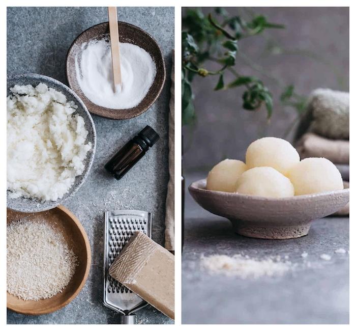 fabriquer sa lessive en sel d epsom cristaux de soude savon vinaigre peroxyde d hydrogene huile essentielle soi meme