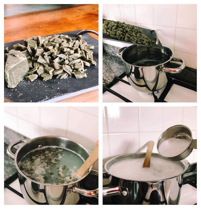 idee comment faire sa lessive maison savon de marseille avec savon eau bicarbonate de soude huiles essentielles