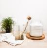 lessive fait maison abvec boraux dans un bocal de verre et de l eau et cristaux de soude exemple recette de lessive a faire soi meme