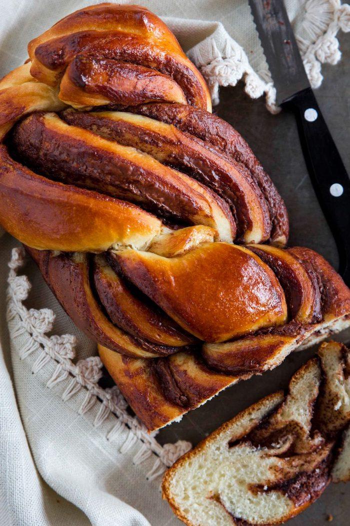 idee pain brioché au nutella avec du lait, idée de pain de dessert facile a faire