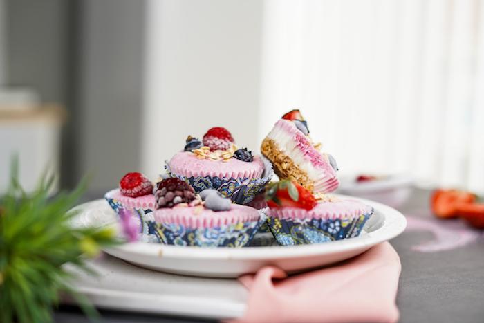recette facile dessert été skyr fruits fraîches prépration recette sucrée légère rapide peu d ingrédients idée recette healthy