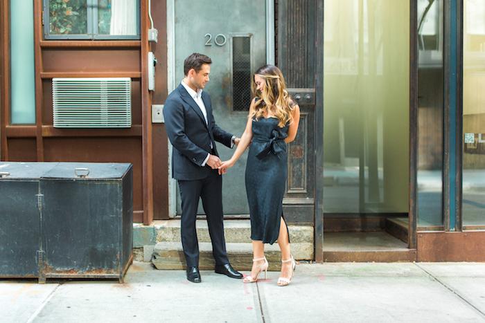 regale elegante robe noire fendue couple amoureux tenue d été pour femme robe femme habillée origiale