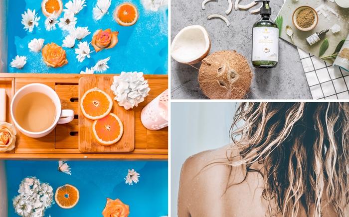 rincage bien lever ses cheveux produits naturels soins chevelure shampoing quotidien nettoyage cheveux