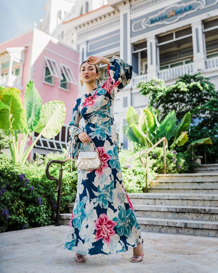 robe longue manche longue femme habillée pour une occasion spéciale robe de cérémonie femme chic savoir comment bien s habiller femme stylée blogueuse