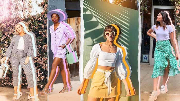 vetement femme chic robe longue femme ete mode 2020 les tendances de l annee en une photo jupe jendue tailleur femme