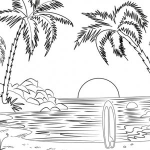 Coloriage d'été : l'art-thérapie parfaite pour grands et petits