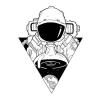 dessin fille noir et blanc dessin fille de dos apprendre a dessiner astronaut idee comment se tatouer