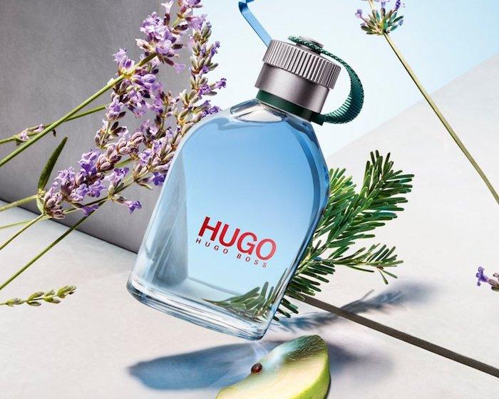 hugo boss aigue marine bouteille romarine pomme verte choix d aromat pour l ete
