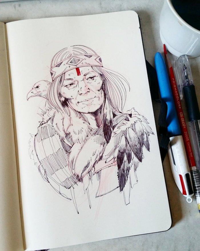 image a copier beau avec lignes firmes comment dessiner une fille kawaii photo de dessin tumblr