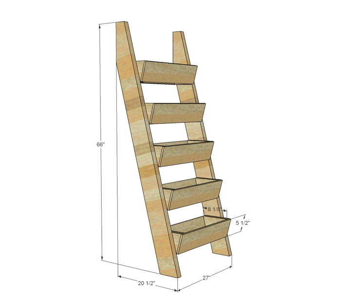 jardiniere balcon plan de construction schèma assemblage planches bois diy support avec jardinières en bois décoration balcon avec matériaux récup