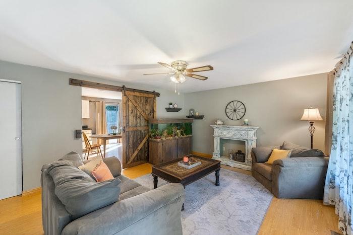 l importance de la hauteur du plafond pour choisir son ventilateur de plafond design idée ventilateur salon style vintage chic
