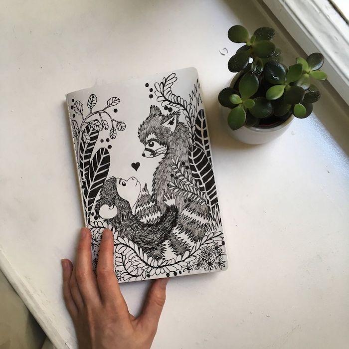 les animaux amoureux apprendre a dessiner comment dessiner une fille kawaii coeur dessin a motif