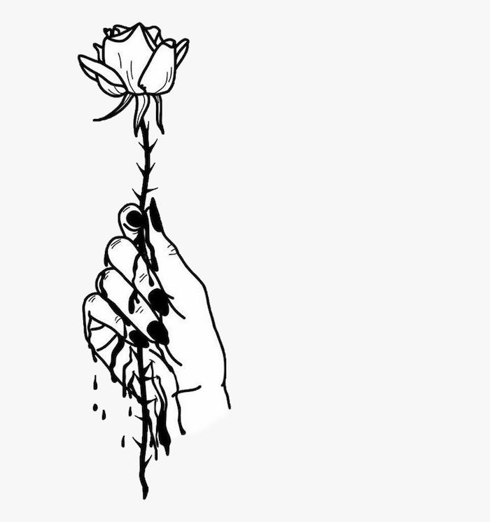 rose represantant l amour dur dessin tumblr facile inspiration dessin d une fille belle dessin facile fille art simple pour ceux qui veulent créer une image