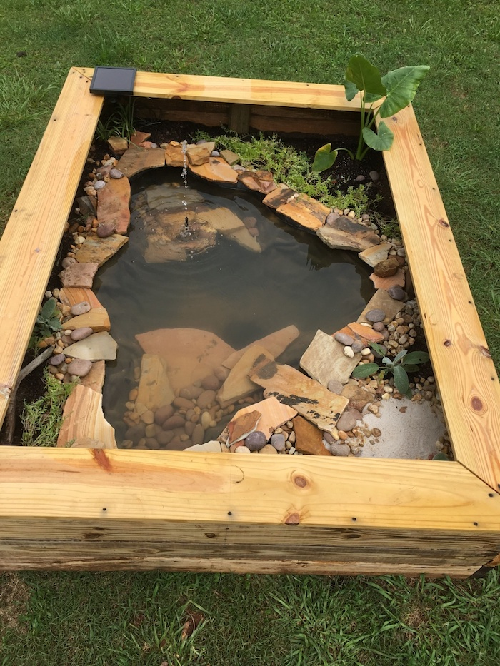 how to build a koi pond above ground ground ponds