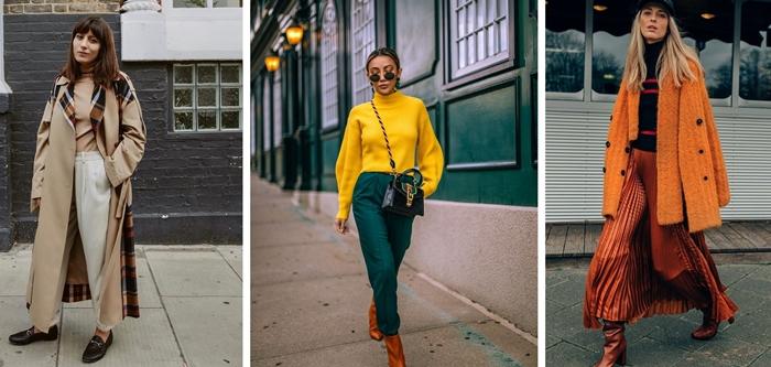 comment bien s habiller femme mode vetements automne manteau long couleur automne 2020 accessoires femme