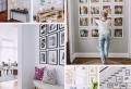 Le mur de photos – une idée créative et originale pour sublimer sa déco