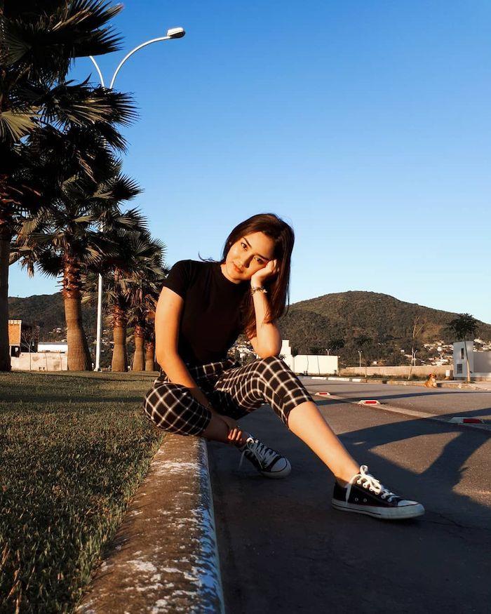 decontracte tenue fille de 14 ans belle comment s habiller bien pour aller au lycée la palmiers rue vans et pantalon carre