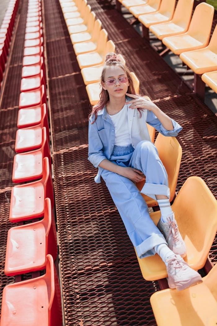 fille 12 ans tenue jean vetement fille 14 ans les tendances a adopter cette annee été automne 2020 style pour les adolescentes