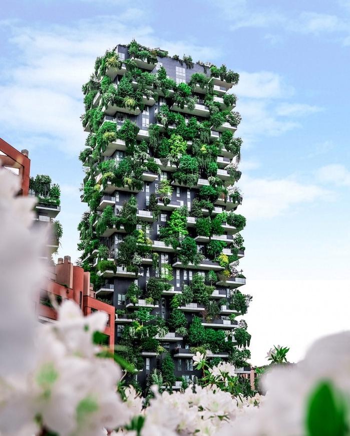 idée batiment design mur vegetal exemple appartements de luxe mode ultra luxe durable original