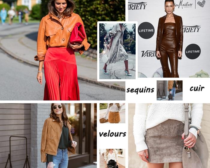 idee tenue velours veste camel jeans femme chemise vert foncé ensemble cuir marron tenue soirée femme jupe plissée rouge