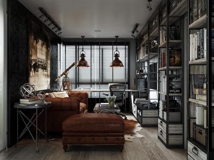 industriel style appartement plafond salle de bain décoration de plafond style rustique bureau avec lustres metaux
